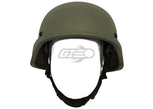 (Lancer Tactical ACH MICH 2000 Helmet (Large - XL/OD Green))