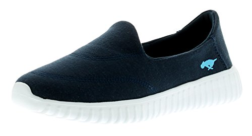 NUOVO donna / Donna Slip On Rocket Dog Switcher morbido jersey Comfort SNEA - NAVY - NUMERI UK 3-8