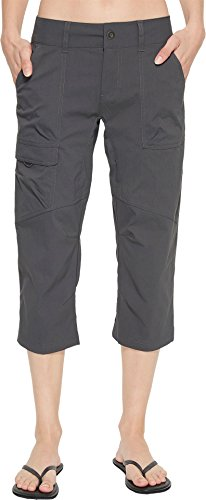 Columbia Women's Silver Ridge Stretch Capri II, Breathable, UPF 30 Sun Protection, Grill, 10