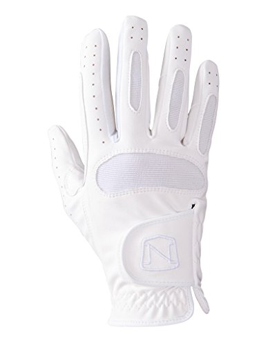 (Noble Outfit Ready to Ride Glove 7 White)