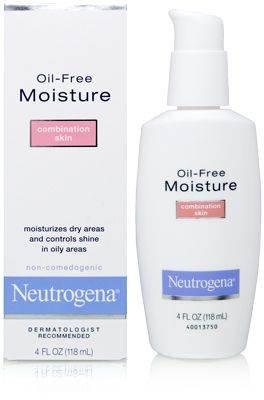 Neutrogena Oil Free Moisture Glycerin Face Moisturizer & Neck Cream Derived  from Castor Oil,