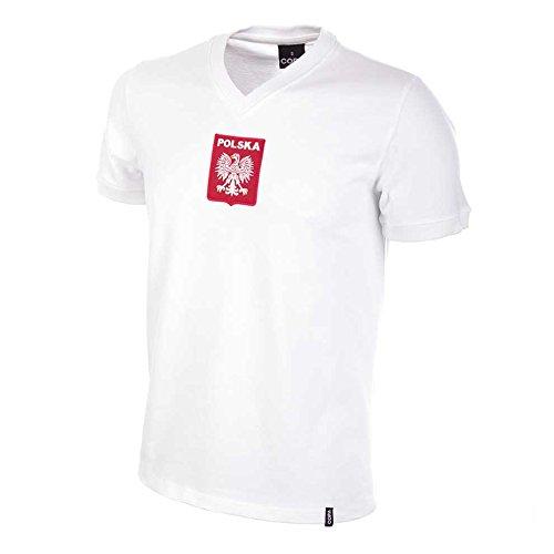 COPA Poland 1970's Kurzarm Trikot Shirt