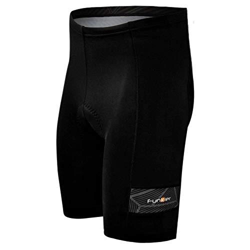 Funkier, Men Shorts,7 Panel, XL(Size 34),Black from Funkier