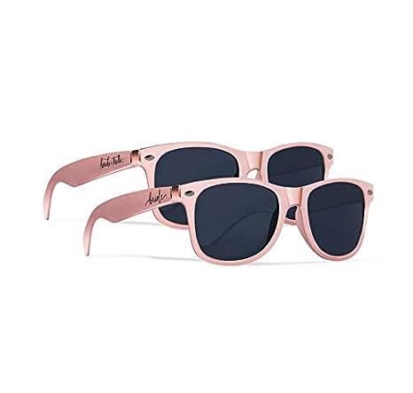 Amazon.com: Bride Tribe + Gafas de sol de novia – Juego de ...