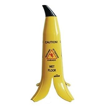 Señal de suelo mojado con diseño de piel de plátano, de la marca Banana Products Llc GK976