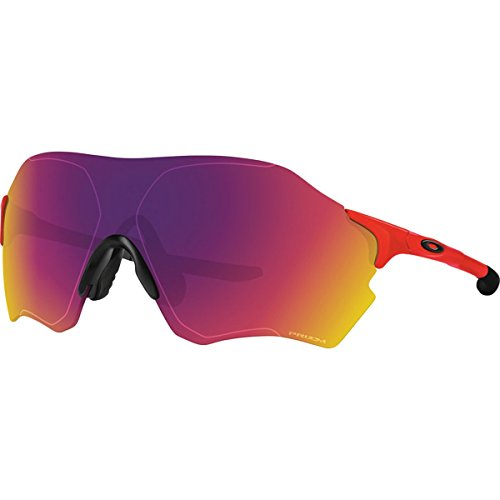 Oakley Men's Evzero Range Non-Polarized Iridium Rectangular Sunglasses, Infrared w/Prizm Road, 138 - Infrared Sunglasses