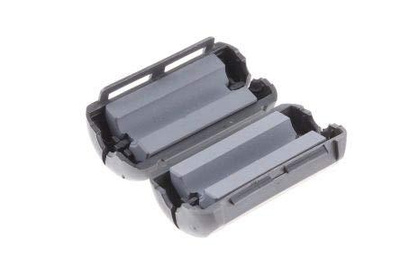 Apertures: 1 Fair-Rite Openable Ferrite Sleeve Diameter 6.6mm For EMI Suppression 20 x 9.8 x 39.4mm