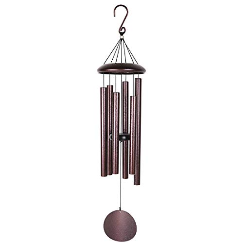 Agirlgle Large Metal Wind Chimes Outdoor- Tuned 36