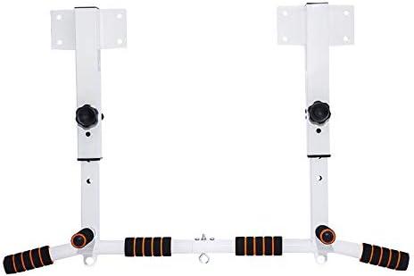 壁に取り付けられた調整可能なプルアップバー、安定した壁に取り付けられたプルアップバーチンチンバー水平バーホームフィットネス機器