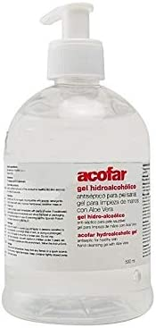 ACOFAR GEL HIGIENIZAN MANOS 500 ML