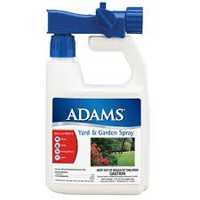 Adams Yard & Garden Spray - Kills & Repels Fleas & Ticks - 32 oz.