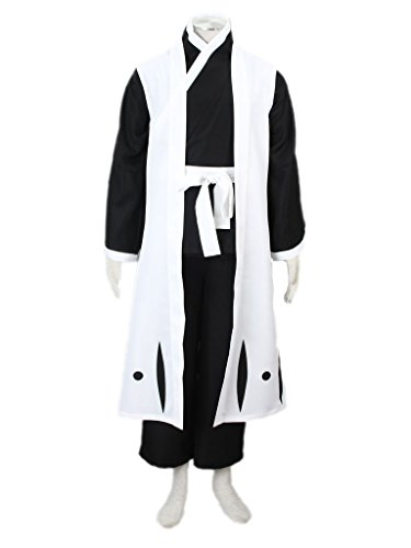 [Mufou Japanese Anime Death Toshiro Hitsugaya Cosplay Costume] (Hitsugaya Cosplay Costume)