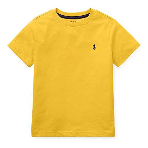 Ralph Lauren Little Boys Polo Crewneck Tee Solid (4T, Active - Lauren Kids Ralph Clothes