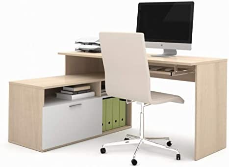 Bestar Small L-Shaped Desk – Modula