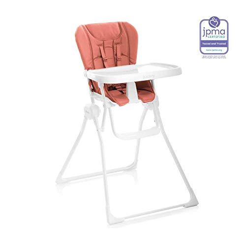 JOOVY Nook High Chair, Coral