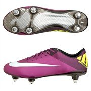 Nike , Chaussures de football pour homme red plum windchill volt black