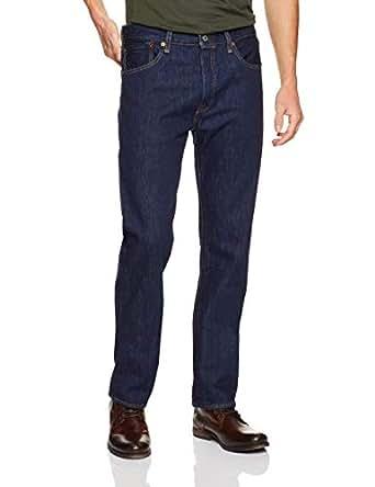 Levi's Men's 501 Original Jeans, Rinse, 34 32