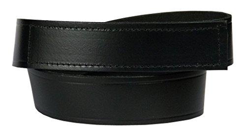No Scratch Buckle Belt (Men's No-Scratch Mechanic Belt, 100% Top Grain One Piece Leather, 1.5