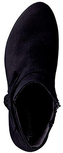 Tamaris Schuhe 1-1-25832-37 Damen Stiefel, Chelsea Boot, Boots, Sommerschuhe für modebewusste Frau, Schwarz