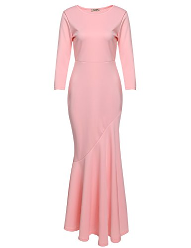Acevog Elegant Mermaid Evening Style Pink Basic Facts