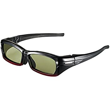Samsung SSG-2200AR Re-chargeable Adult 3-D Glasses - Black (Compatible with  2010 3D TVs) 11eb4567c5cb5