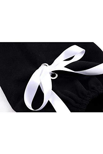 Courtes À Sweatshirts Automne Rouge Noir Taille Manches Printemps XL couleur Zhrui Femelle tUBxwnqd5t