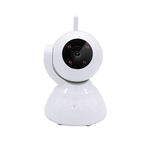 JHS-TECH 720P Baby Camera P2P WiFi IP Camera Built-in Microphone,Pan/Tilt with Baby Video Monitor 2-Way Audio,Nanny Camera,Night Vision Wireless Camera