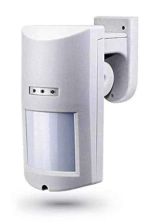 Detector inalambrico exterior anti mascotas 20Kg Sensor movimiento infrarrojo pasivo Detector inalambrico exterior Inmune pequeñas ...