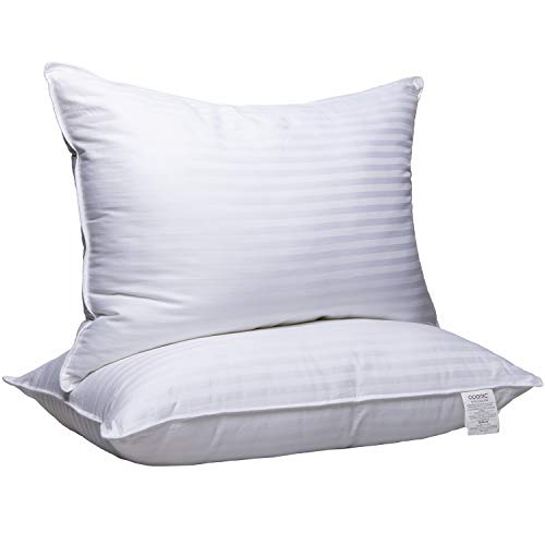 Adoric Pillows for Sleeping - Hotel Collection Gel Pillow 2 Pack - Luxury Bed Pillows for Sleeping - Queen