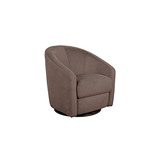 swivel chairs living room. Babyletto Madison Swivel Glider  Slate Microsuede Chair Living Room Amazon com