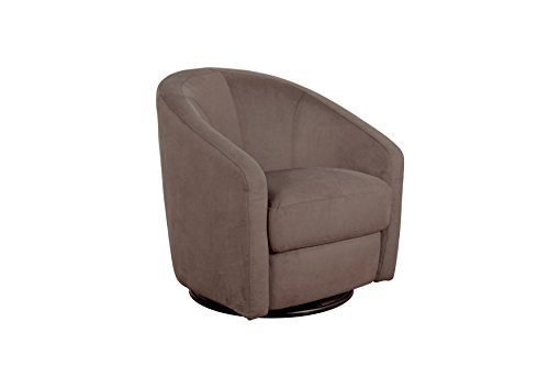 Babyletto Madison Swivel Glider, Slate Microsuede ()