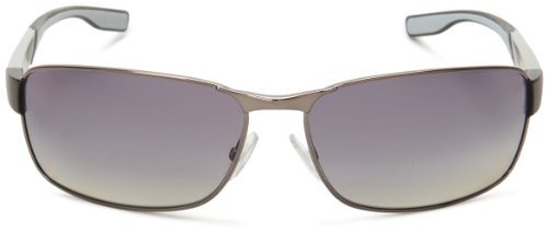 Boss By Hugo Boss Mens B0569PS Rectangular Polarized Sunglasses