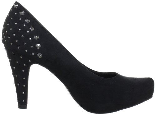 Marco Tozzi 2-2-22462-20 - Zapatos de tacón para mujer Negro (Schwarz (Black 001))