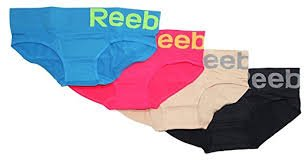 Yarn Ranch - Reebok Ladies Performance Seamless Hipster - 4 Pack (Medium, Assorted)
