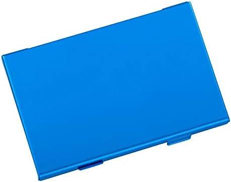 CXBH ゲームカードカートリッジケースNs個のスイッチゲームアクセサリブルー用アルミ10ゲームストレージボックス6ゲームカード+ 4のTfカード (色 : 青い)