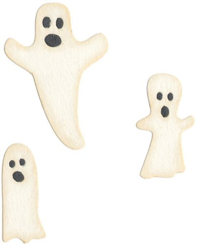 QUICKUTZ We R Memory Keepers 2-Inch by 2-Inch Die, Ghosts