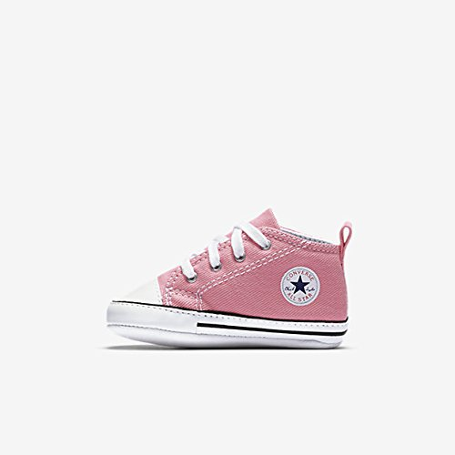 (Converse First Star Chuck Taylor Infant Shoes Pink (1))