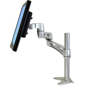Ergotron Neo-Flex Extend LCD Arm. NF EXTEND LCD ARM MNTR-L. 20 lb - Silver - Neo Flex Lcd Arm Extension