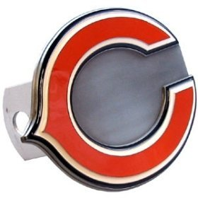 Tow Hitch Cover--Chicago Bears (Trailer Cover Hitch Pewter)