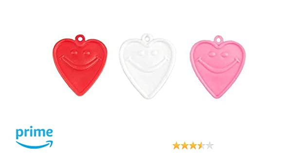 Hot Pink Plastic Balloon Shape Weights For Latex /& Foil balloons