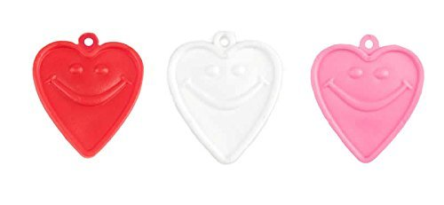 - Happy Weight Balloon Weights, Heart Shape Assortment, 8 G, 100 Count