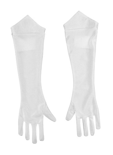 Princess Peach And Mario Costumes - Nintendo Super Mario Brothers Princess Peach Child Gloves, One Size Child
