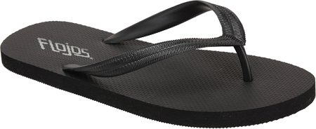 Flojos 105 Men Keel Flat Sandals Black 7WWlDrR6b