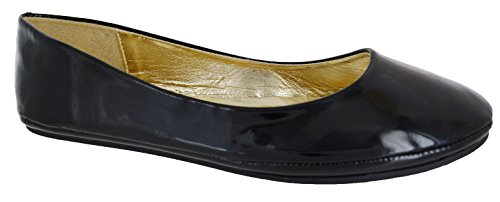 9642c9f6a9172 Other Ladies Black Red White Silver Gold Flat Ballet Ballerina Pump Dolly  Work Shoe 3-8 - Buy Online in Oman. | Shoes Products in Oman - See Prices,  ...