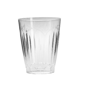 Legacy Plastic Drinking Cup, 10-Ounce, Clear (240-Count)