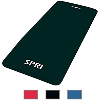 Amazon.com : SPRI Exercise Mat for Fitness, Yoga, Pilates