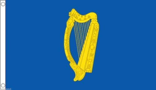 Moon Knives 3x5 Ireland Irish Presidential Harp Super-Poly Flag 3x5 Banner - Party Decorations Supplies For Parades - Prime Outside, Garden, Men Cave Decor Flag