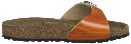Birkenstock - Sandalias de material sintético mujer Naranja