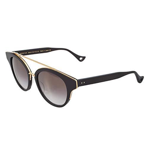 Dita Medina Women Sunglasses Shiny 18K Gold Frame 22023-A (Dita Sunglasses)