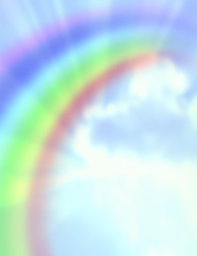 Great Papers! Rainbow Bright Letterhead, 8.5 x 11 Inches, 80 Count -